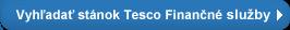 Vyhledat stánek TESCO Finanční služby